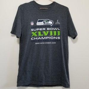Seattle Seahawks championship tee shirt (b)
